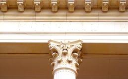 Detalle de la columna Imagen de archivo libre de regalías