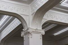 detalle de la columna - Callao monumental Fotos de archivo