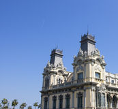 Detalle de la configuración en Barcelona Imagen de archivo