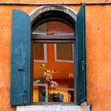 Detalle de la configuración veneciana, Venecia, Italia fotografía de archivo