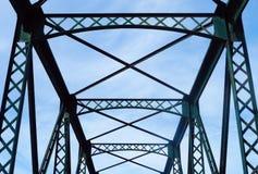 Construcción de puente imagen de archivo libre de regalías