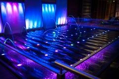 Detalle de la cubierta de la piscina Fotografía de archivo