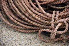 Detalle de la cuerda Fotos de archivo libres de regalías