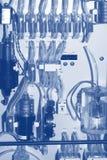 Detalle de la electrónica de la dotación física Imagen de archivo libre de regalías