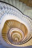 Detalle de la escalera espiral Fotografía de archivo libre de regalías