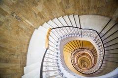 Detalle de la escalera espiral Imagen de archivo libre de regalías