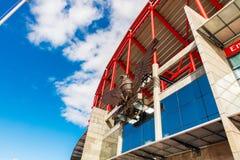 Detalle de la escultura de Eagle del estadio de Benfica en Lisboa Imagen de archivo