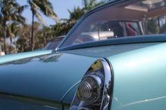 Detalle de la esquina de la parte posterior de Ferrari 250 GT del vintage Fotografía de archivo