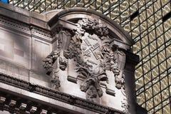 Detalle de la estación central en New York City Imagen de archivo libre de regalías