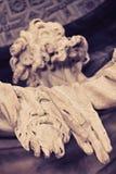 Detalle de la estatua de Bartholomew del santo fotos de archivo