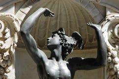 Detalle de la estatua de Perseus de Benvenuto Cellini en Florencia Fotos de archivo libres de regalías