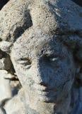 Detalle de la estatua del ángel del cemento Fotos de archivo libres de regalías