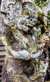 Detalle de la estatua en el templo de Besakih, Bali, Indonesia Imagen de archivo libre de regalías