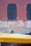 Detalle de la fachada de la casa Imagen del color Fotografía de archivo libre de regalías