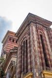 Detalle de la fachada de Las Nieves Church - Bogotá, Colombia Imágenes de archivo libres de regalías