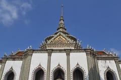 Detalle de la fachada de un castillo Fotografía de archivo
