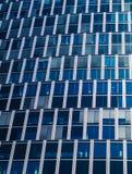 Detalle de la fachada de un edificio del negocio en Francfort, alemana foto de archivo libre de regalías