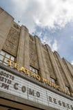 Detalle de la fachada del teatro municipal - Bogotá, Colombia Imagen de archivo libre de regalías