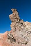Detalle de la formación de roca del Los Roques en Tenerife, España Fotos de archivo libres de regalías