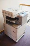 Detalle de la fotocopiadora dentro Imagen de archivo libre de regalías