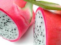 Detalle de la fruta del dragón Imagen de archivo libre de regalías
