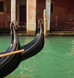 Detalle de la góndola (Venecia, Italia) Foto de archivo libre de regalías