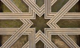 Detalle de la geometría del Islam imágenes de archivo libres de regalías