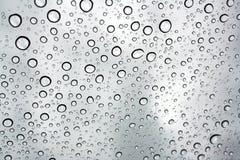 Detalle de la gota del agua Fotos de archivo