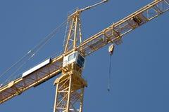 Detalle de la grúa de construcción Fotografía de archivo