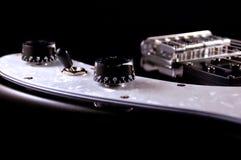 Detalle de la guitarra eléctrica fotos de archivo libres de regalías