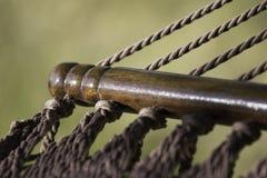 Detalle de la hamaca Fotografía de archivo libre de regalías