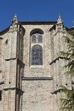 Detalle de la iglesia colegial de Santa Maria Fotos de archivo libres de regalías