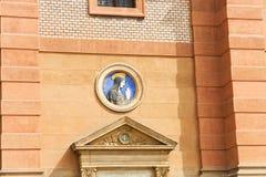 Detalle de la iglesia del St. Wenceslao Fotos de archivo libres de regalías