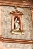 Detalle de la iglesia del St. Wenceslao Imagen de archivo