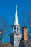 Detalle de la iglesia en Maine Imagen de archivo libre de regalías