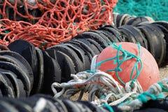 Detalle de la industria pesquera  Imagen de archivo libre de regalías