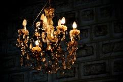 Detalle de la lámpara en Maaloula Fotos de archivo