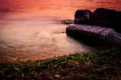 Detalle de la línea de la playa Imagen de archivo libre de regalías