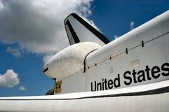 Detalle de la lanzadera de espacio Imagenes de archivo