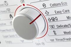 Detalle de la lavadora Imagen de archivo libre de regalías