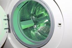 Detalle de la lavadora Foto de archivo libre de regalías