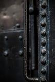 Detalle de la locomotora de vapor Foto de archivo libre de regalías