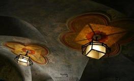 Detalle de la luz en sinagoga fotografía de archivo libre de regalías