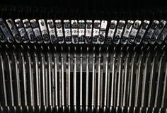 Detalle de la máquina de escribir Imágenes de archivo libres de regalías