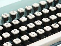 Detalle de la máquina de escribir de la vendimia Fotos de archivo libres de regalías