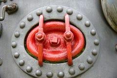 Detalle de la máquina del vapor Fotografía de archivo libre de regalías