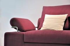 Detalle de la maneta del sofá Foto de archivo libre de regalías