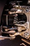 Detalle de la maquinaria Foto de archivo libre de regalías