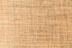 Detalle de la materia textil de Brown Foto de archivo