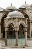 Detalle de la mezquita de Sultan Ahmed Foto de archivo libre de regalías